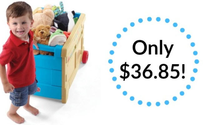 Step2 Lift And Roll Toy Box Only 36 85 Reg 49 99