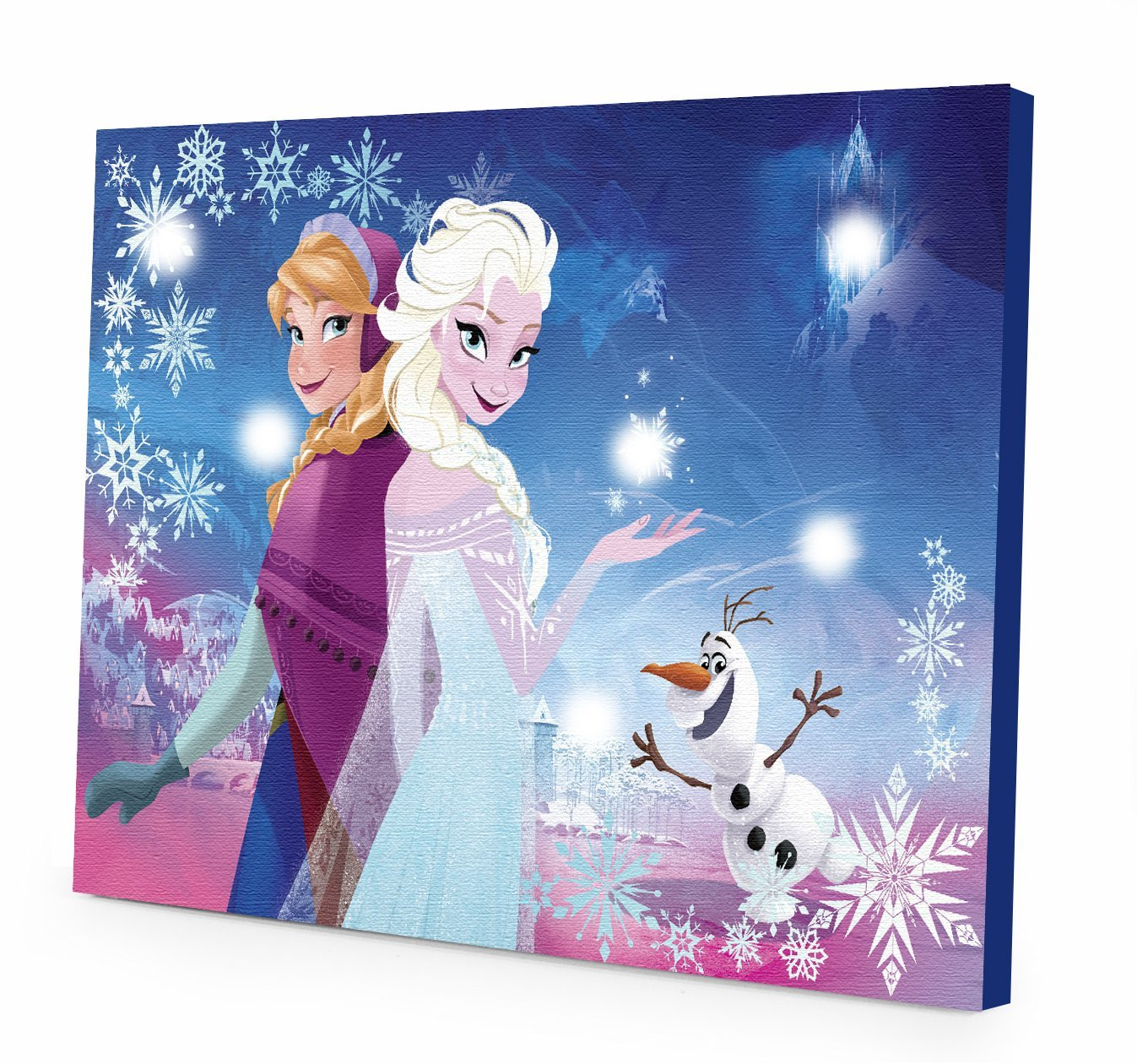Cute Small Baby Wallpapers Disney Frozen Canvas Led Wall Art Only 9 99 Become A