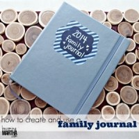 How to Create and Use a Family Journal