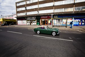 Green Vintage Car. Photo by AF Rodrigues
