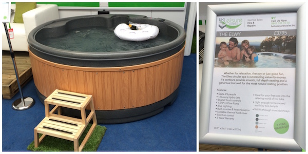 Hot Tubs North Wales Showroom