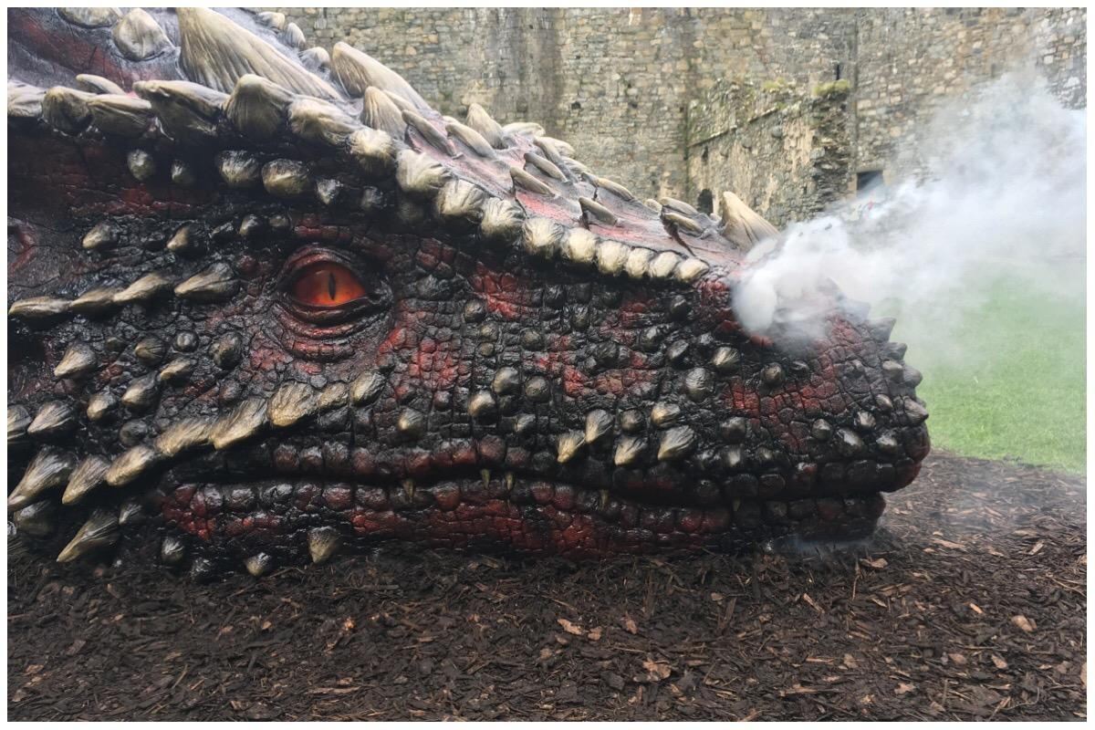 Smoking dragon