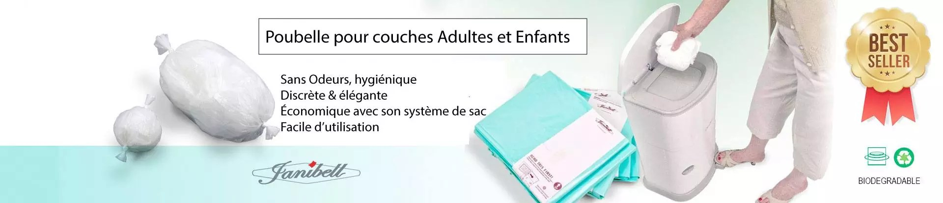 Echantillon Couche Adulte Diaper Disposal System
