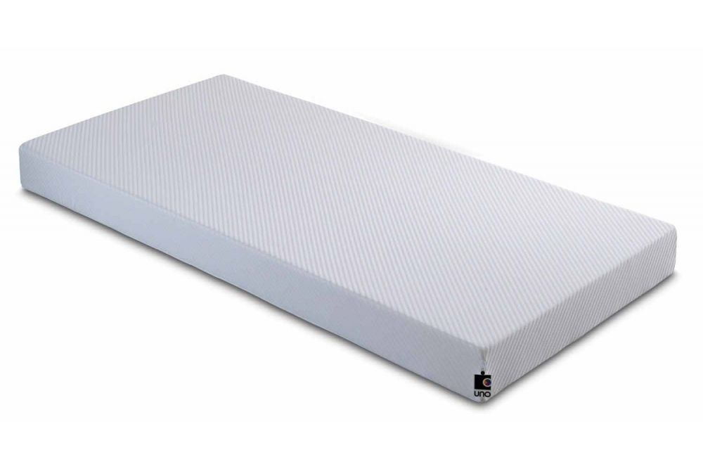 Bed 120 X 190 Breasley Uno Junior 2ft6 Small Single Mattress - Bed