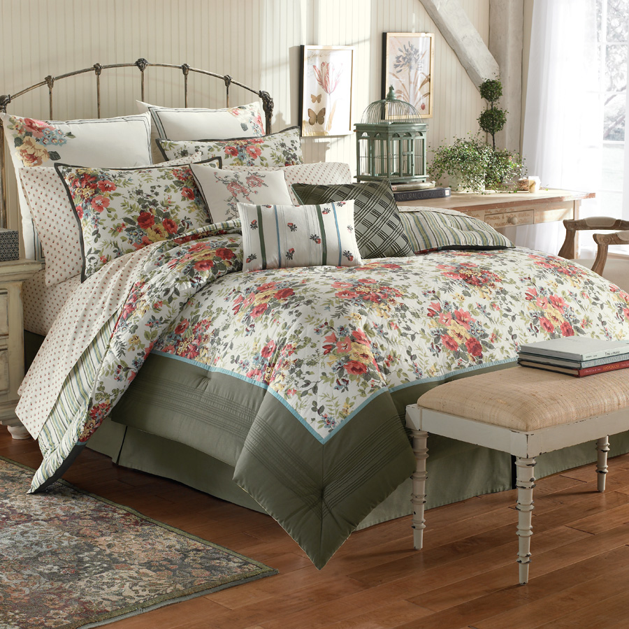 Laura Ashley Wakefield Bedding Collection From
