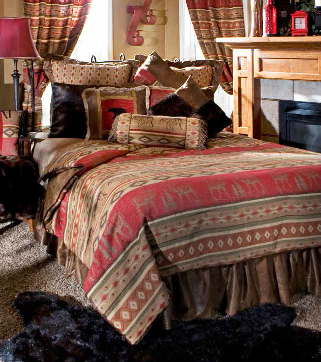 Modern Bedding Adirondack By Carstens Lodge Bedding By Carstens Lodge
