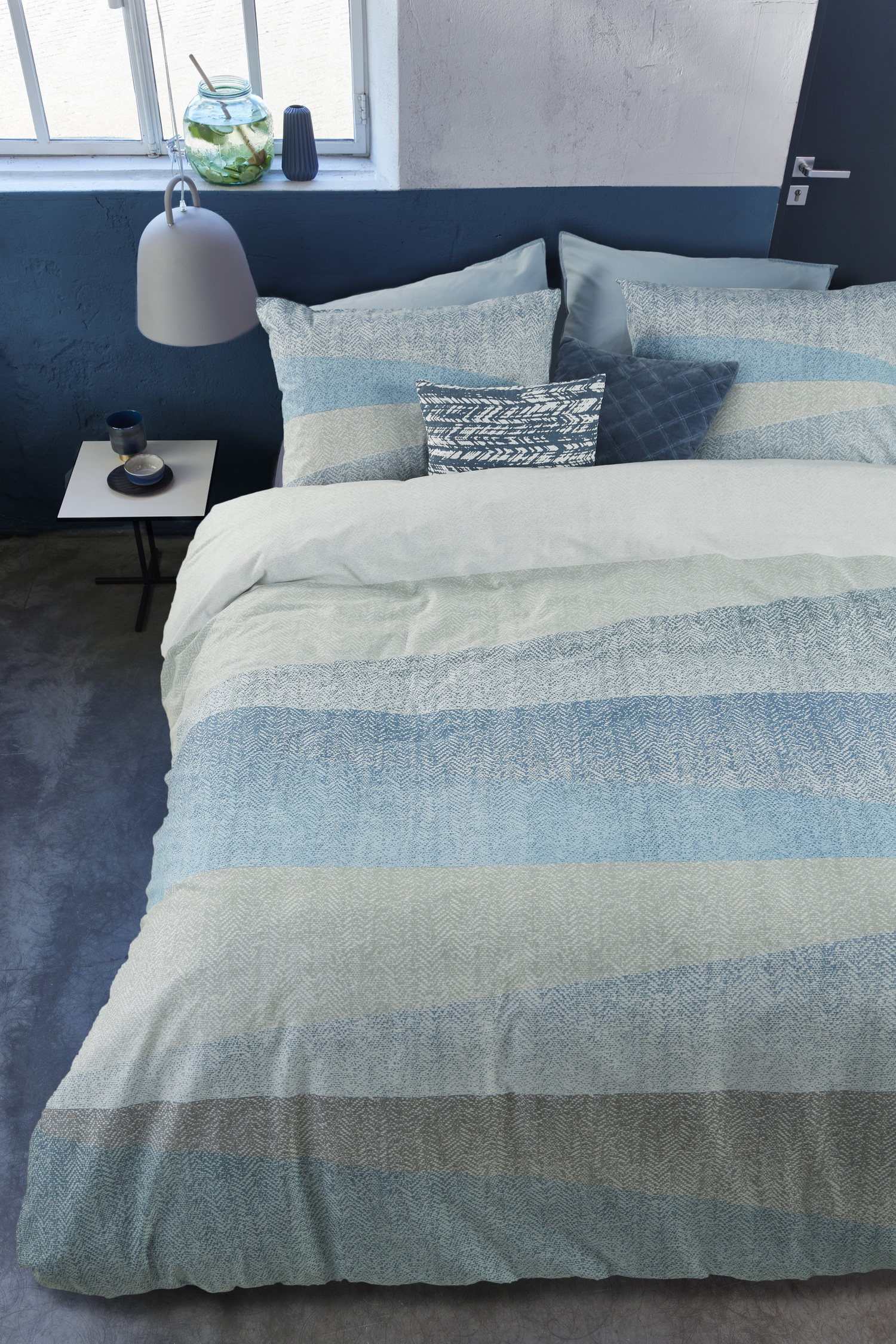 Housse De Couette Paris Flag Blue By Hb Brunelli - Beddingsuperstore.com