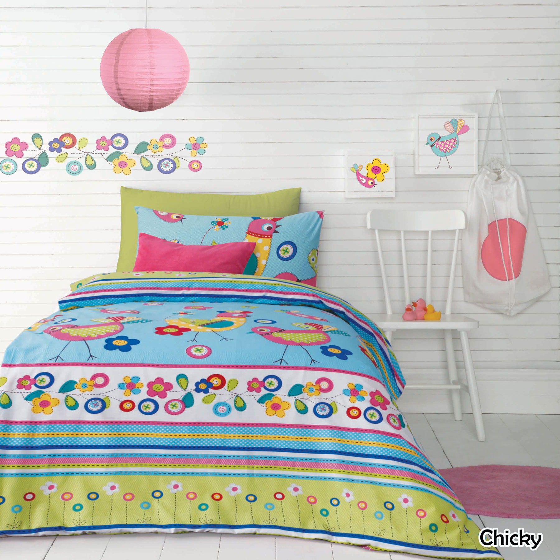 Boys Double Quilt Cover Adorable Kids Children Girls Boys Quilt Cover Set Chicky By Ardor