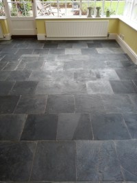 Polished Slate Tile Flooring | Tile Design Ideas