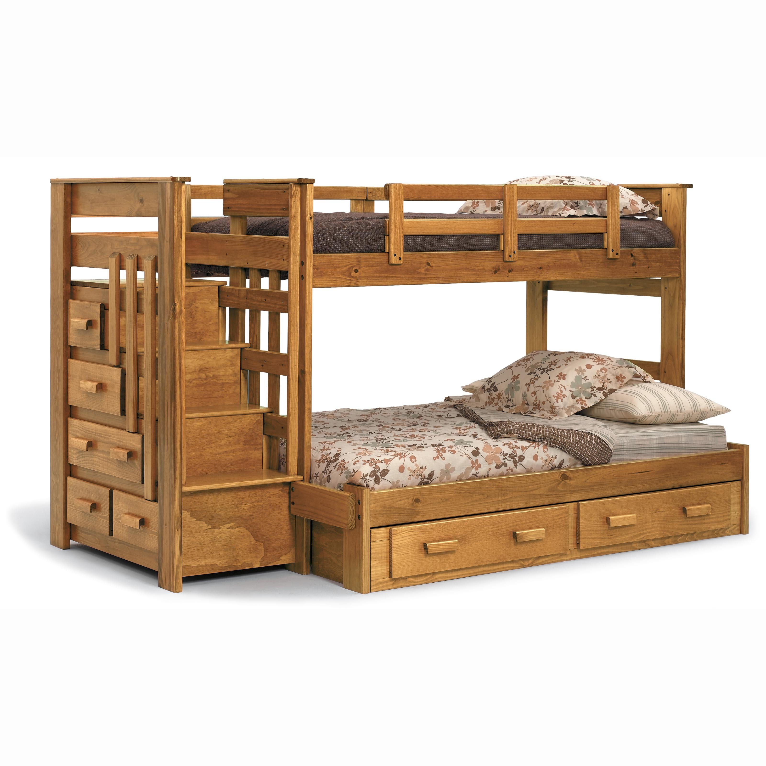 Twin Loft Bed Bunk Bed Plans Twin Over Full | Bed Plans Diy & Blueprints