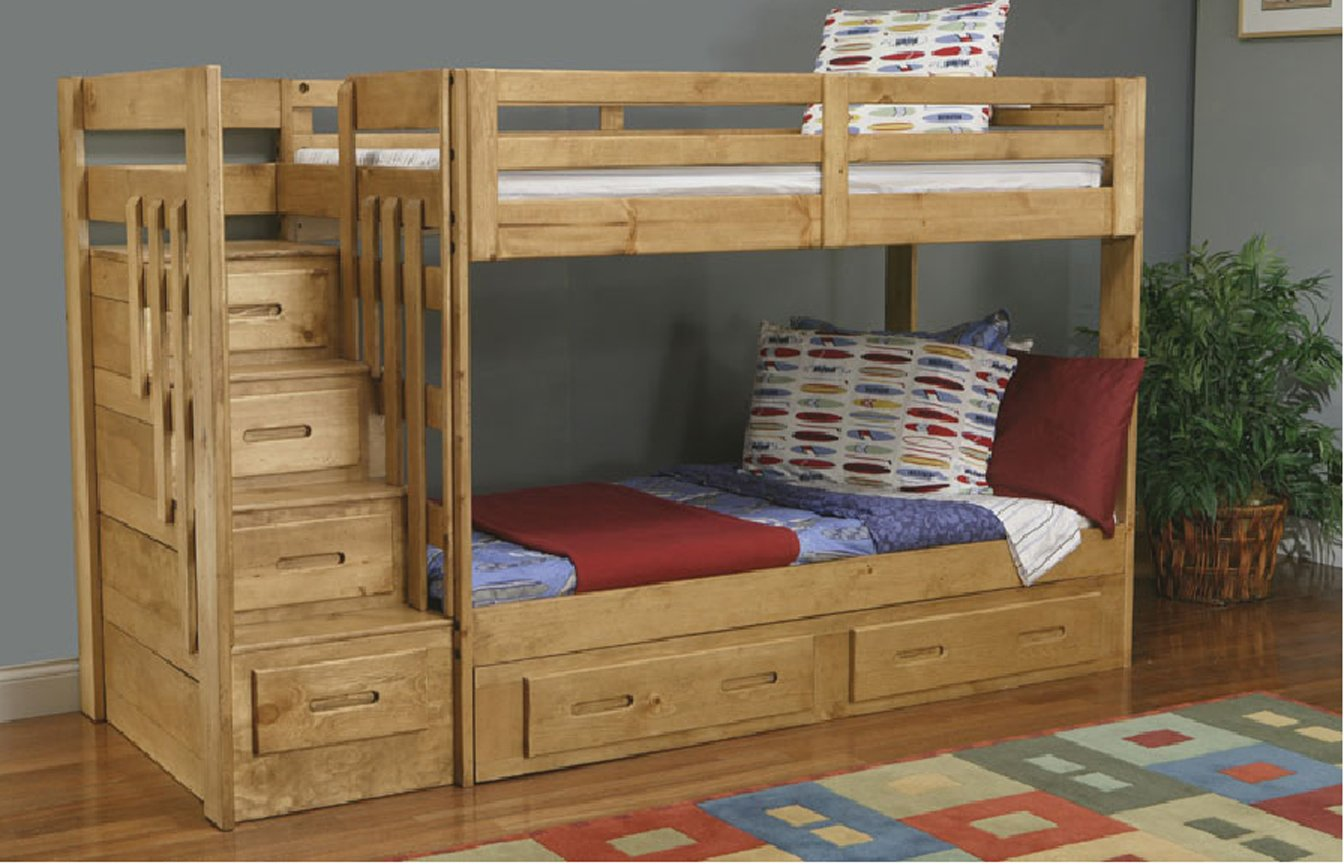 Building A Bunk Bed With Stairs Plans For Bunk Beds With Storage Stairs Quick