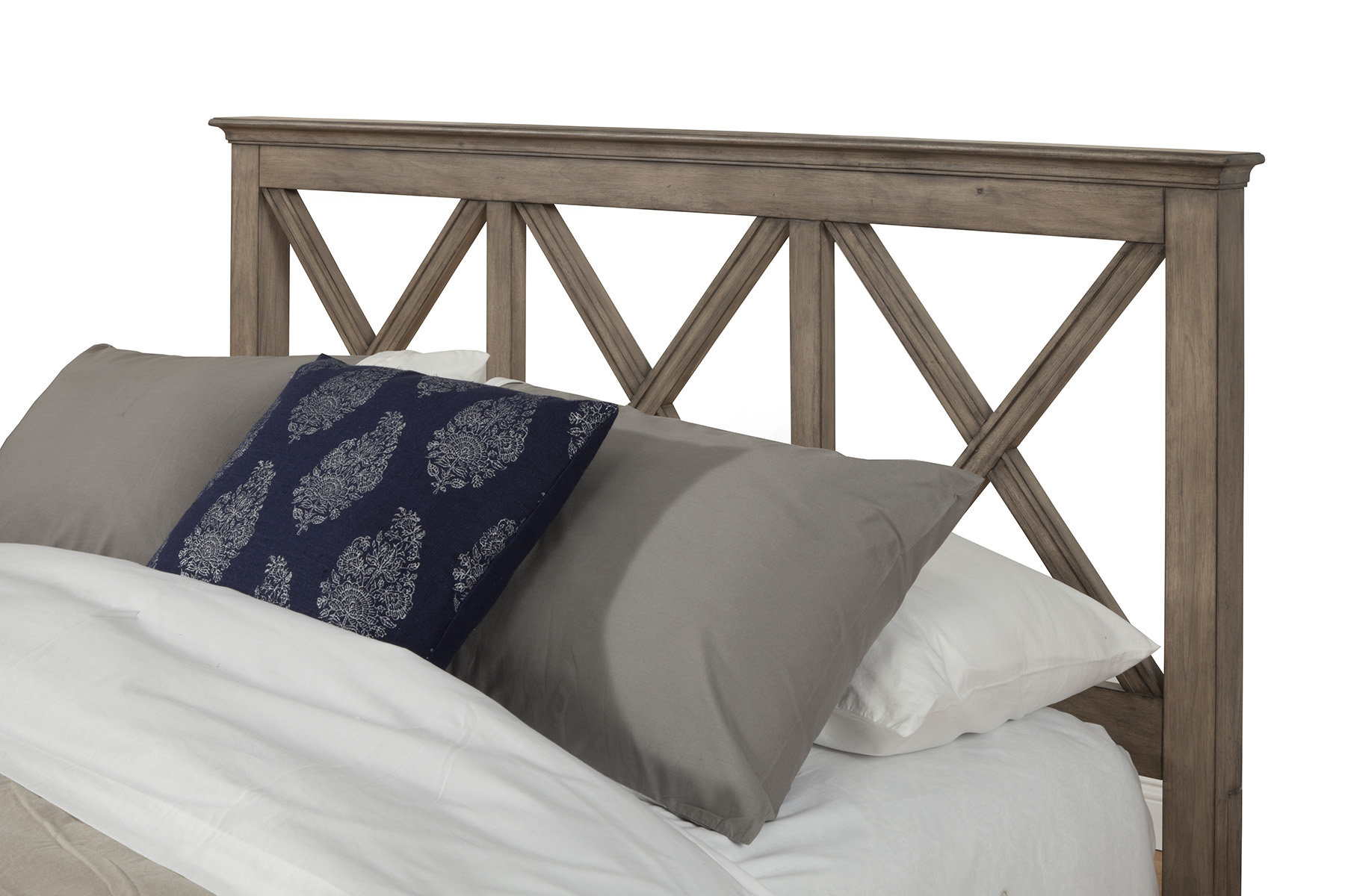 Bed Headboard Alpine Furniture Potter Queen Size Bed Headboard Only In French Truffle 1055 01q Hb