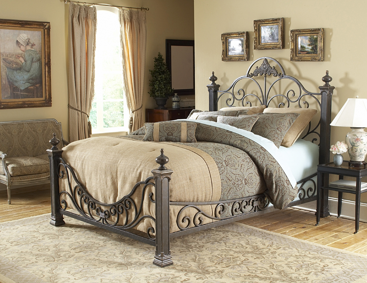 Beds And Beds Bedrooms West Metal Beds