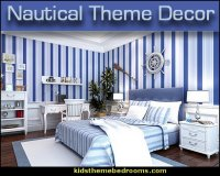nautical theme bedroom decorating ideas | theme bedroom ...