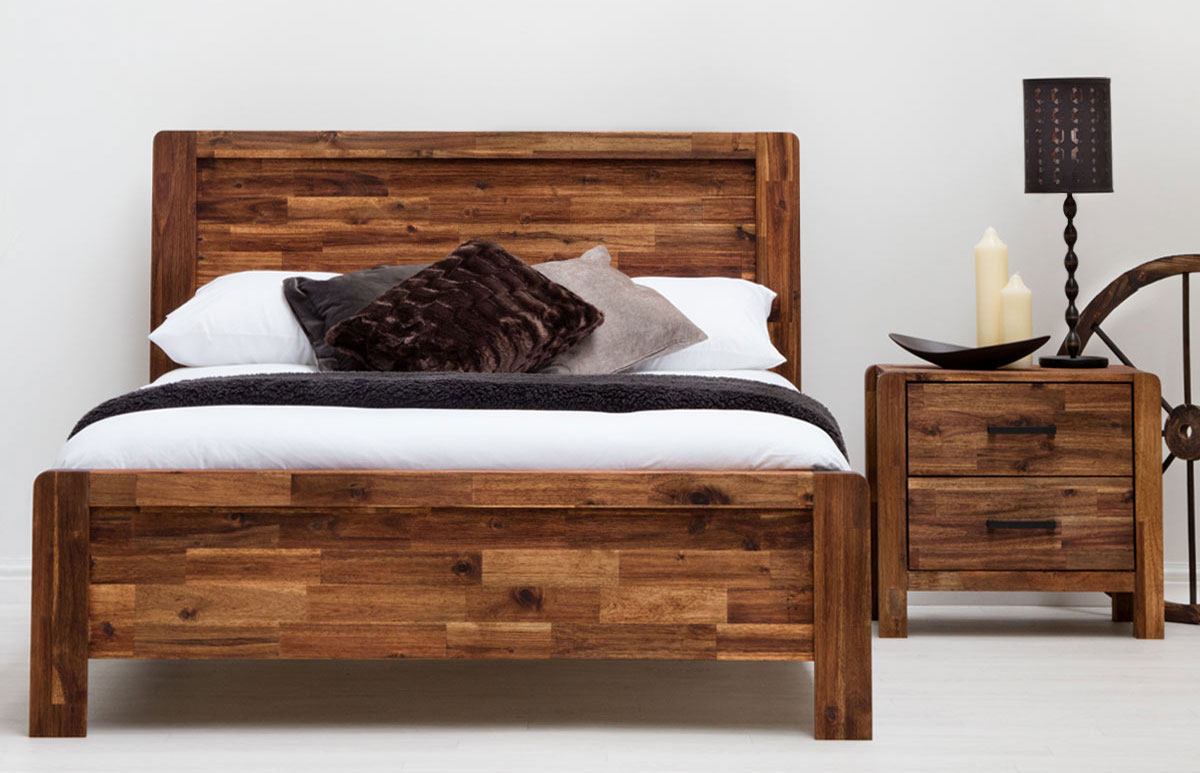 Solid Wood Bed Charlwood Solid Wood Bed