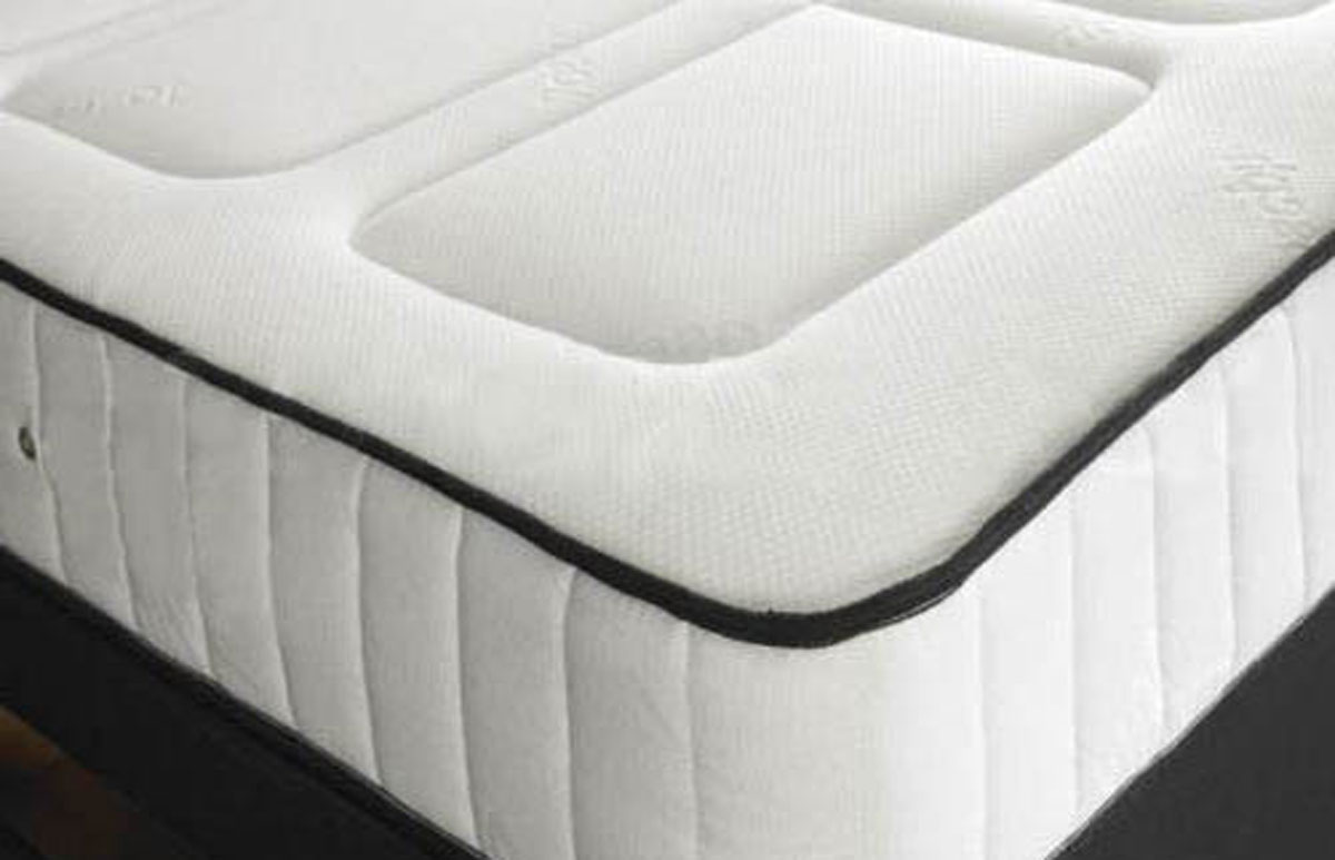Bonnell Sprung Mattress With Memory Foam Layer Single Size Coil Sprung Memory Foam Mattress 2c Free Delivery