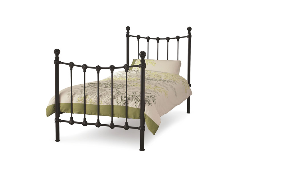 What Is The Length Of A Single Bed Deans Furnishers Beds Elizabeth 135 Cm Titanium Grey Double Bed
