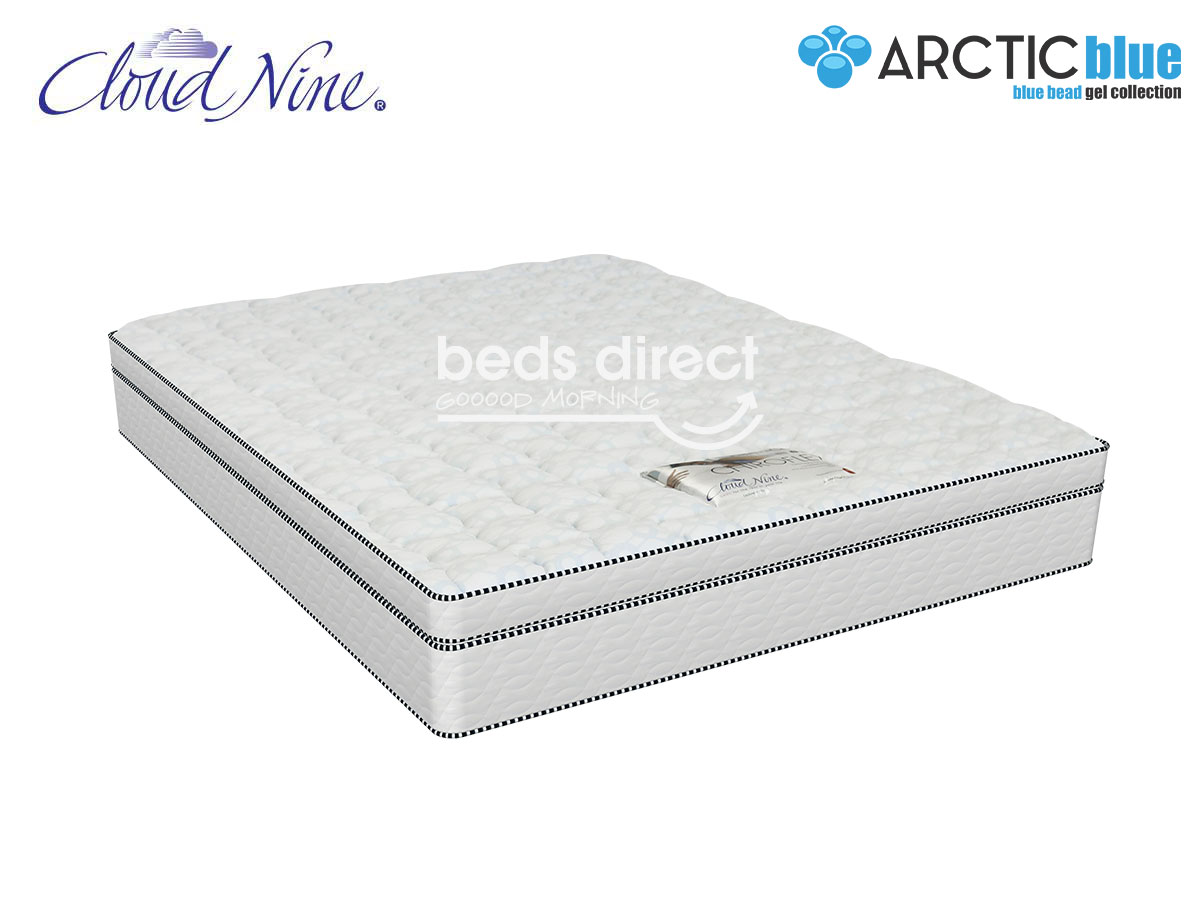 Double Bed Mattress Cover Cloud Nine Chiroflex Bt Double Mattress Extra Length