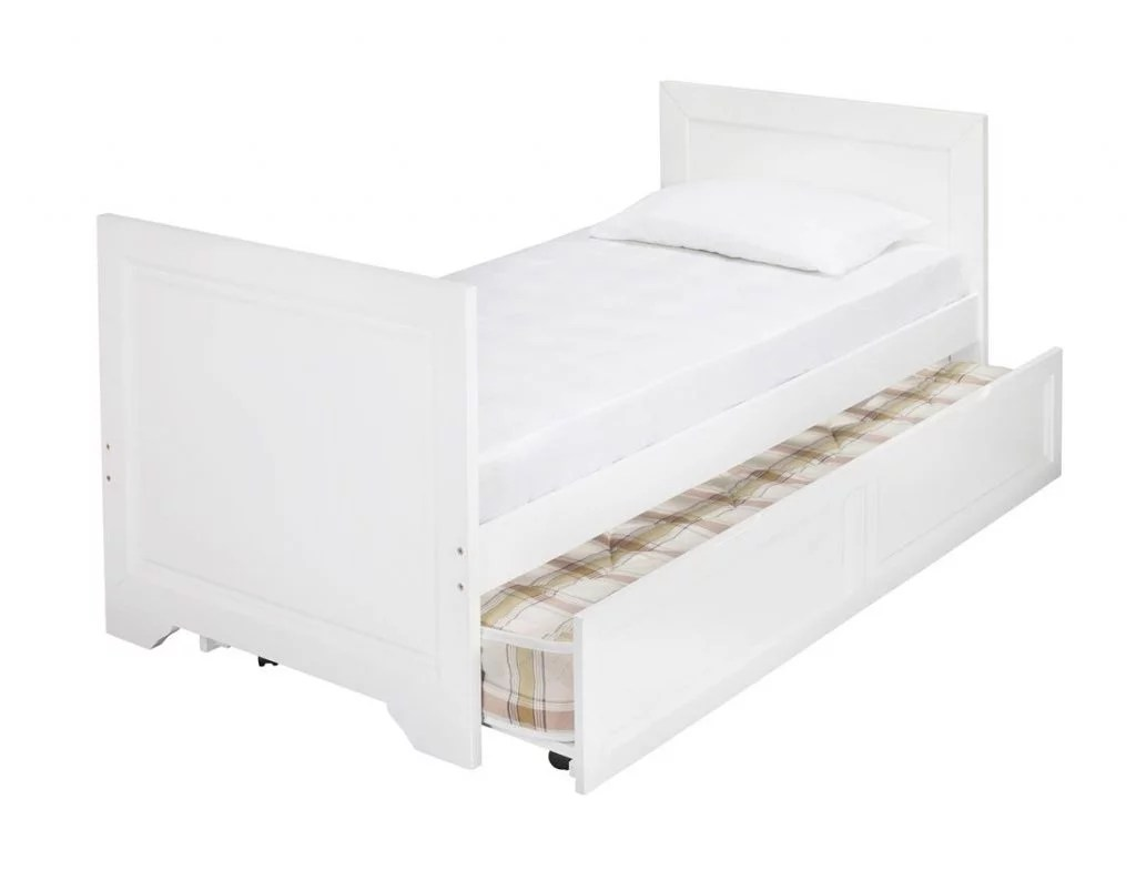 White Trundle Bed Westport White Wooden Day Bed Plus Trundle Bf Beds Leeds