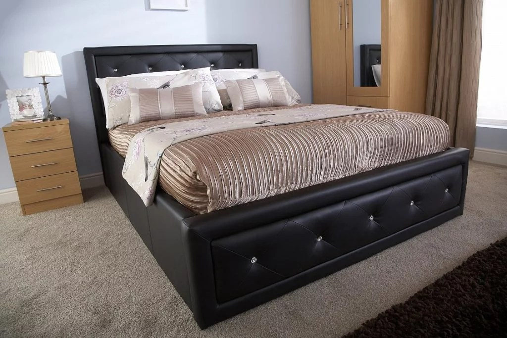 Discount Beds Hollywood Ottoman Bed Bf Beds - Cheap Beds - Leeds.
