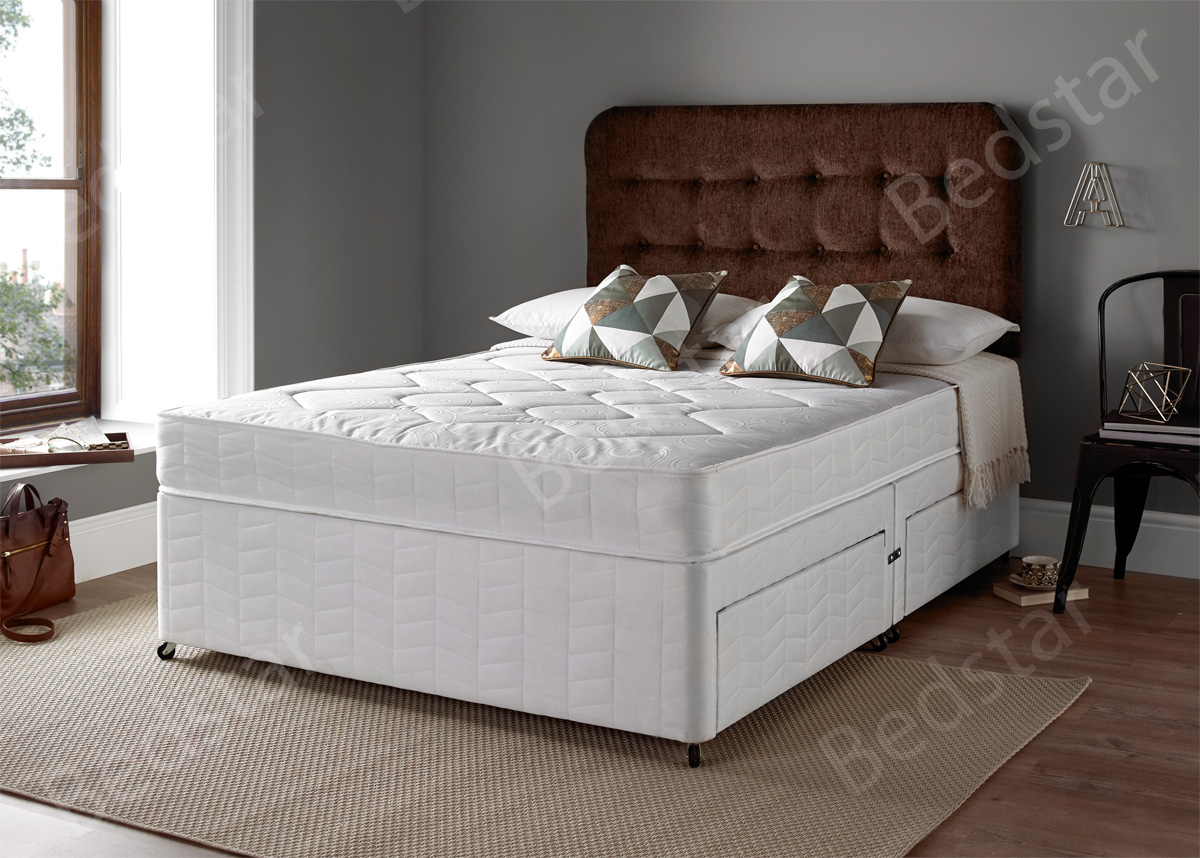 Double Divan Beds Giltedge Beds Rimini 4ft 6 Double Divan Bed