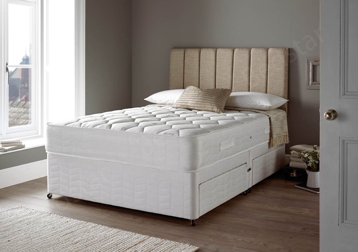 Double Divan Beds Giltedge Beds Wentworth 4ft Small Double Divan Bed