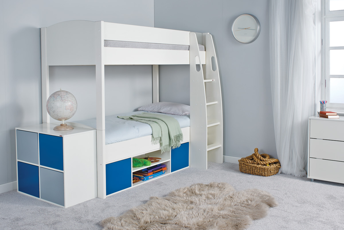 Stompa Classic Bunk Bed Stompa Unos Wooden Bunk Bed With Storage