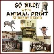 Animal Print Nursery Decor