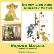 Lion King Nursery Decor