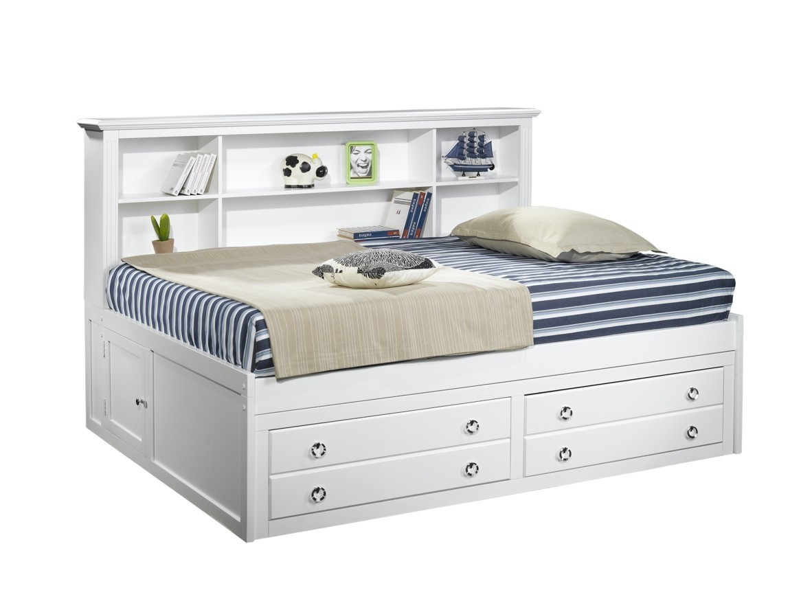 Storage Beds Australia Victoria Lounge Day Bed In White Wash King Single