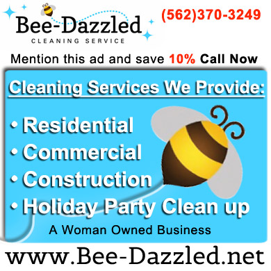 BeeDazzled-ad - Cleaning Services, Home  Commercial