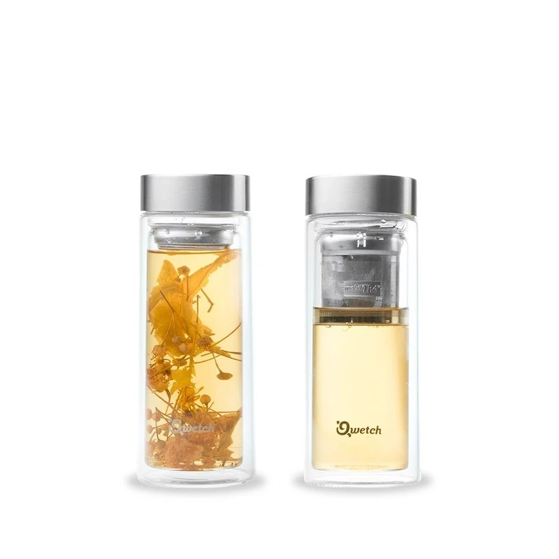 Thermosflasche Glas Teeflasche To Go - Teatox | Beechange 🐝 Zero-waste Shop