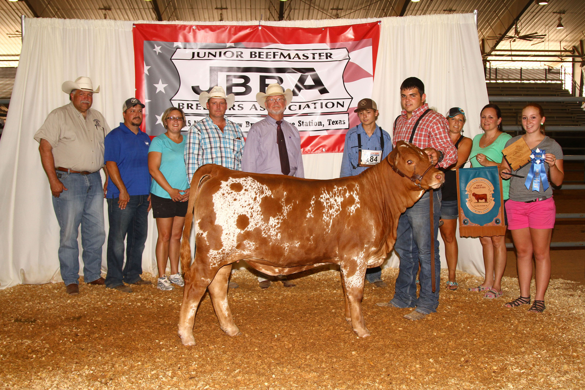 Bull Mini Kühlschrank Red Foster Rebecca Blog Junior Beefmaster Breeders Compete For National Titles