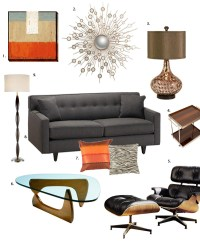 Mad Men-Inspired Home Decorating - Bee Home Plan | Home ...
