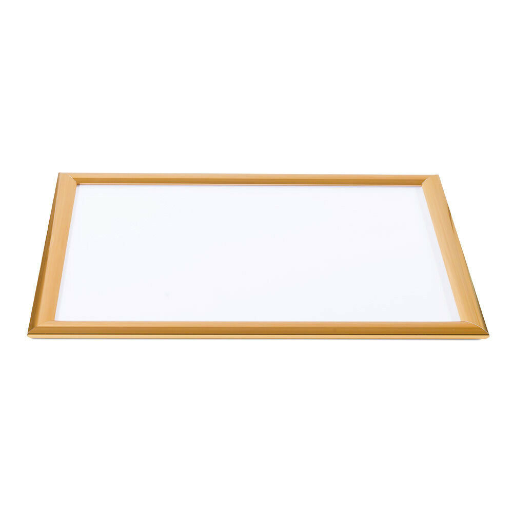 Lijst 42 X 30 Photo Frame Snaplock Single Sided Milk White Rear Panel Copper Frame Copper Metal A3 42 X 30 Cm
