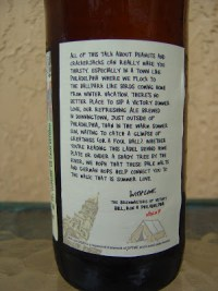 Victory Summer Love Ale Story