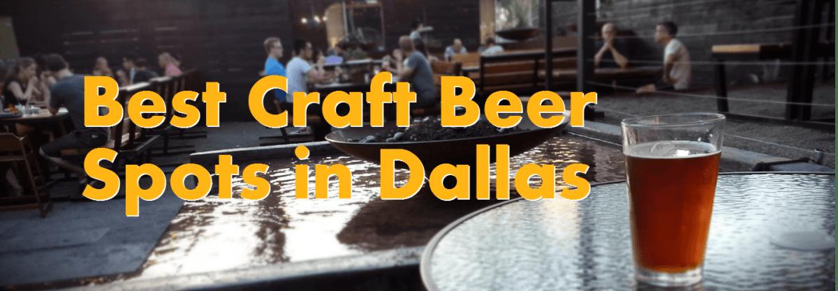 Best Craft Beer Spots in Dallas