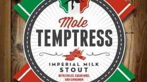 Lakewood Brewing Mole Temptress Label