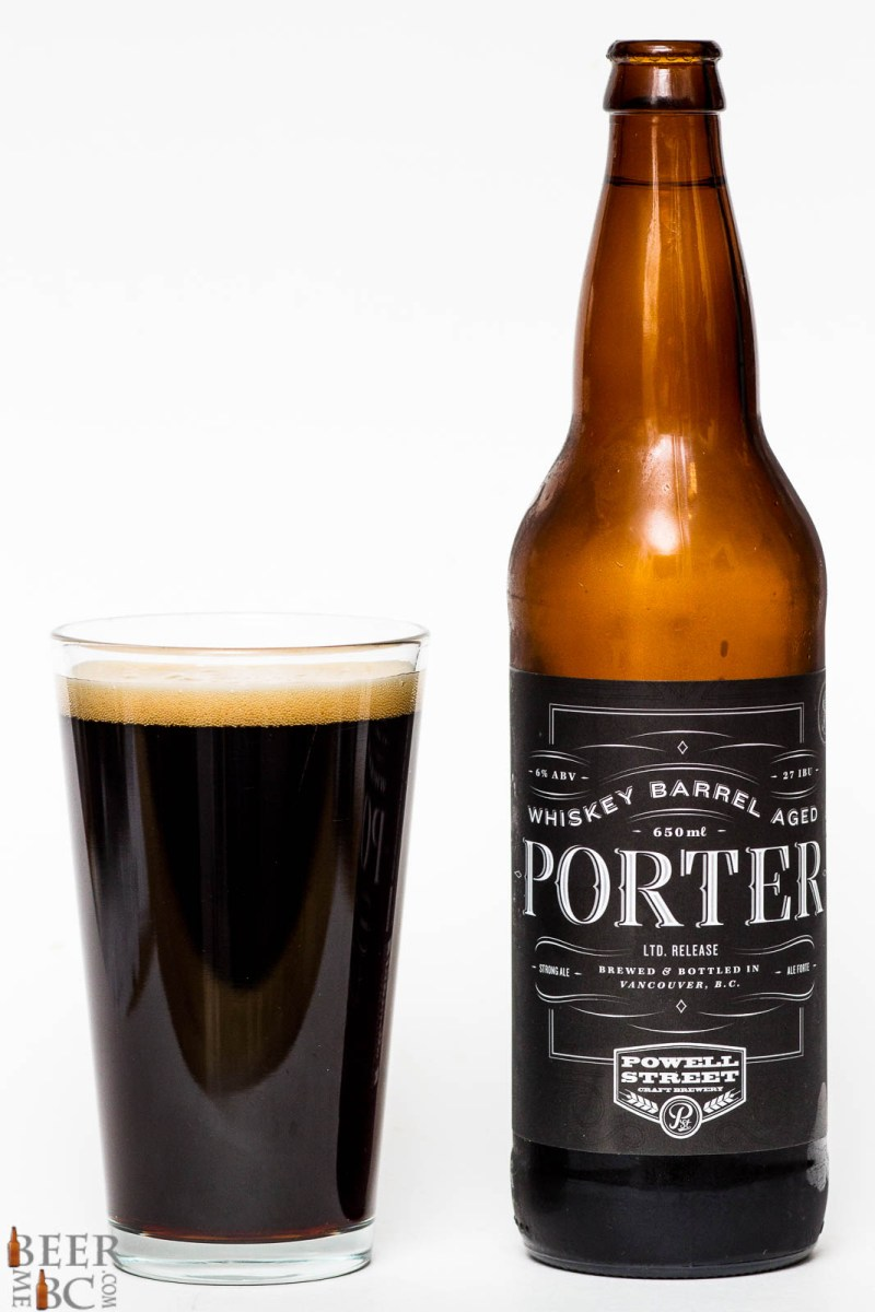 Powell Street Brewing Co. - Whiskey Barrel Aged Porter