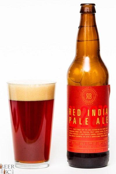 R&B Brewing Co. Red India Pale Ale | Beer Me British Columbia