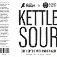New Kettle Sour Beer Collaboration from Ravens and Doan's Brewing