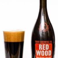 Tree Brewing Co. - 2016 Red Wood Wine Barrel Aged Beer