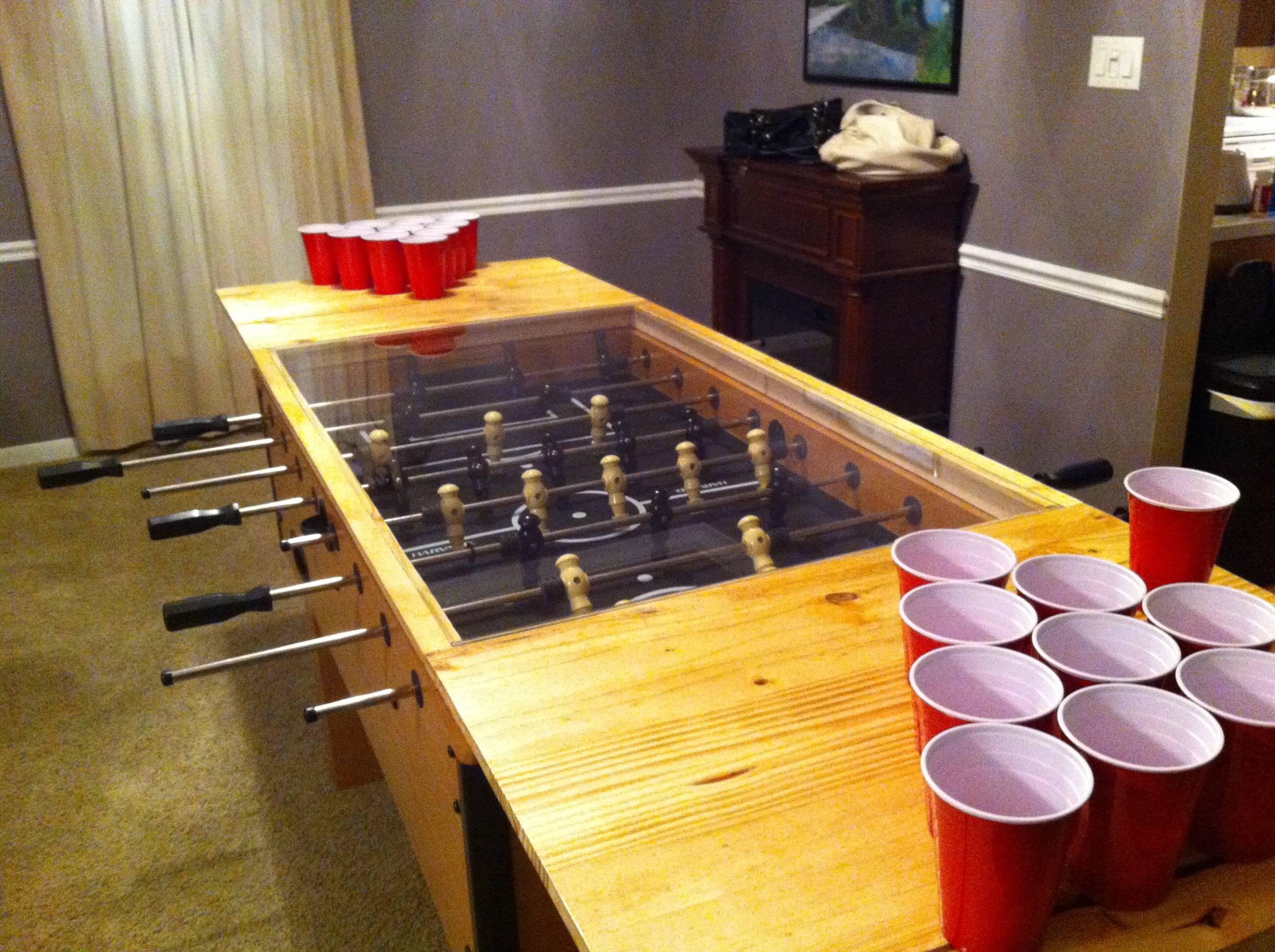 cool beer pong tables beer pong all stars. Black Bedroom Furniture Sets. Home Design Ideas