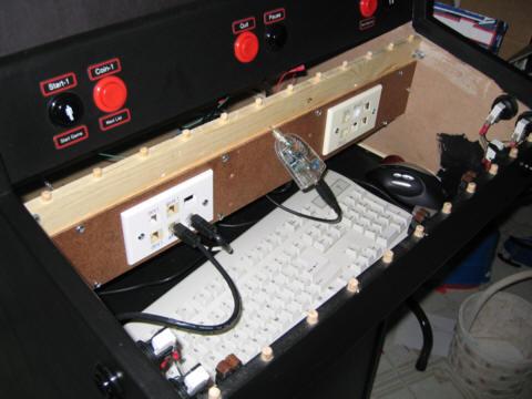 Doc\u0027s Modular MAME - Wiring the control panel