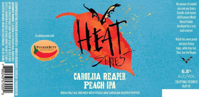 HOT Flying Dog Carolina Reaper Peach IPA - Beer Street Journal