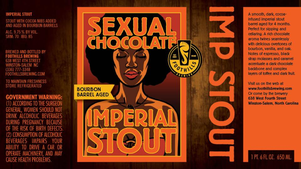 Foothills Bourbon Sexual Chocolate
