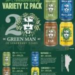 Green Man 20th Anniversary Variety Pack