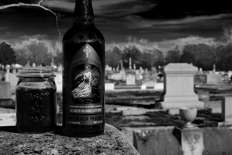 Lost Abbey My Black Parade bottle