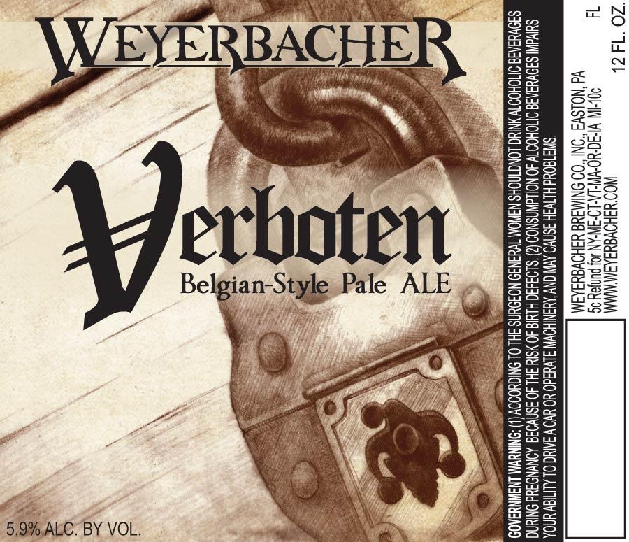 Weyerbacher Verboten