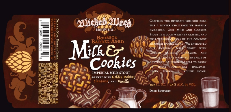 Wicked Weed Barrel Aged Milk & Cookies